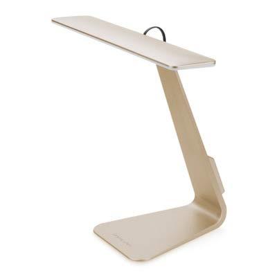 DAMEN Schlafzimmer Studie nachtlicht, einfache led Lade schreibtischlampe, kreative Touch tischlampe, dimmen Lade Sensor licht, Schreibtisch augenschutz schreibtischlampe Gold -