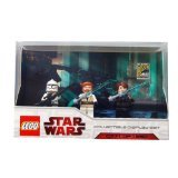 LEGO Star Wars Minifigures Set - 2009 Comic Con Exclusive (Includes Anakin, Obi-wan and Clone Trooper) by LEGO (English Manual) (Wars Star Lego 2009)