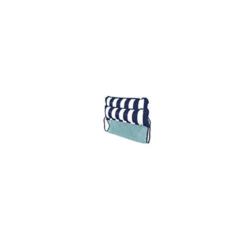 Float acqua amaca gonfiabile hammock motivo a strisce pool portatile galleggiante sdraio drifter per adulti e bambini navy blue 1pc