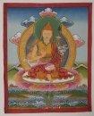 Thangka Padmasambhava, en marco, aprox 35 x 28 cm