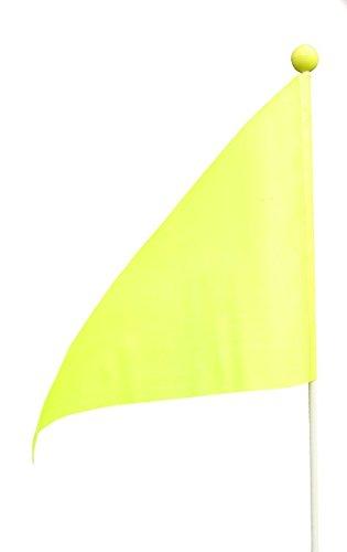 Sicherheitsflaggen für Fahrräder, Neon-Gelb 1, 2, 5oder 10Stück pro Packung, gelb, 5 Stück
