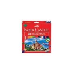 Faber Castell Cf48 Matite Eco Temperalapis(confezione da 48 pezzi)