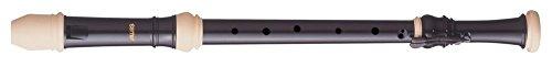 Aulos 700097 C-Tenorblockflöte Symphony Mod.511B barocke Griffw.braun, komplett mit Tasche, Wischerstab, Fettdose und Grifftabelle
