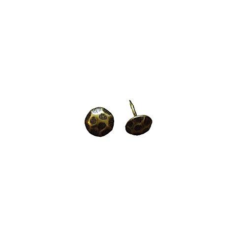 Polster,- Möbel,- Ziernägel Oxford, 11 mm, bronce renaissance, 25 Stück