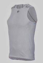 Pearl Izumi Herren Ärmelloses Unterhemd Transfer Lite Baselayer, White, XL, P14121401508XL (Pearl Ärmelloses Izumi)