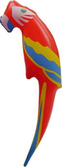 Inflatable Parrot Novelty Blow Up Inflatable Party Accessories Decorations & Props