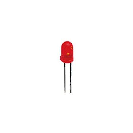 Superhelle 3 mm LED, Rot, 5.000 mcd Mcd Led