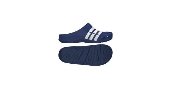 Adidas Duramo Clog, Damen Hausschuhe, Blau Marineblau