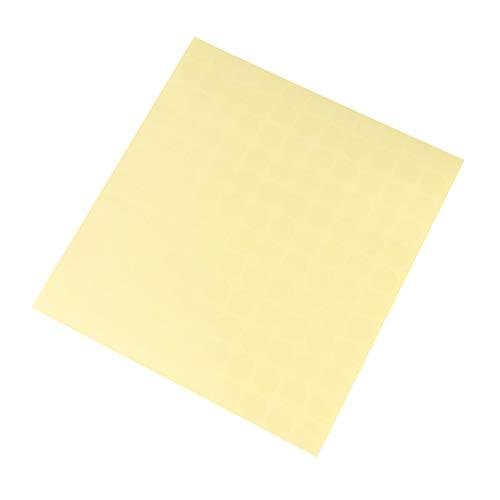 Toyvian PVC Transparent Runde Aufkleber Candy Cookies Boxen Gläser Umschläge Scrapbooking...