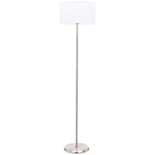 UMI Floor Standing Lamp Fabric Shade Cilindrical