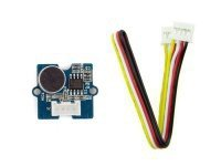 Seeedstudio Grove - Sound Sensor / Grove Compatible Interface / Wide Supply Voltage Range: 4V-12V / Low Quiescent Current Drain: 4ma / 2.0cm X 2.0cm Twig Module / Minimum External Parts