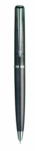 Parker Latitude: Portaminas Warm Grey, Adornos cromados, Mecanismo de giro, Utiliza minas de diámetro 0,5 mm.