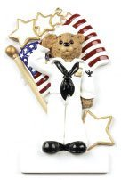 Personalized Soldier american army Christmas Holiday Gift Expertly Handwritten Ornament by Rudolph and Me -