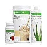 Herbalife Frühstück (1 x Shake, 1 x Tee, 1 x Aloe Mango)