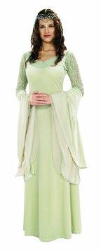 Herr der Ringe Damen Kostüm Elfe Arwen Mittelalter Prinzessin Larp (Arwen Von Herr Der Ringe Kostüm)