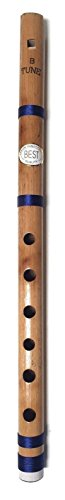 Anfänger bis zum professionellen indische Bambus Flöte Bansuri 35,6cm fipple Flöte
