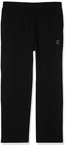 JP 1880 Herren große Größen bis 8XL, Jogginghose, Hose mit elastischem Bund und Saum, 2 Eingrifftaschen, gerade geschnitten schwarz 5XL 702635 10-5XL