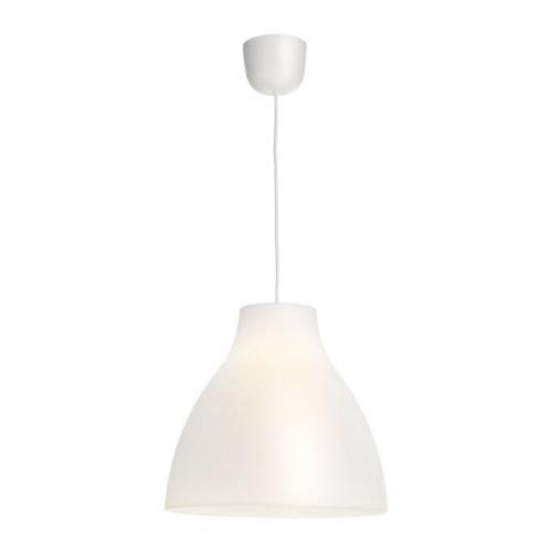 IKEA MELODI - Lámpara de techo, blanco - 38 cm