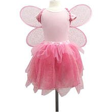 My Princess Academy / Star Fairy Wings and Skirt Costume, Pink