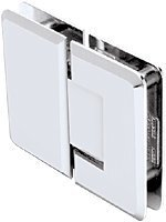 CRL Pinnacle 180 Series Chrome 180Ã'º Glass-To-Glass Standard Hinge by C.R. Laurence -