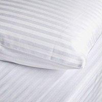 King Size Bett mit Verstellbarer Satin Bettbezug, Gestreift, Aus Baumwolle mit Einer Fadenzahl von 250 (Verstellbar King-size-bett)