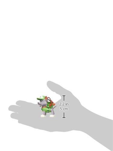 PAW PATROL- Figura Rocky 5cm (Comansi 99882) 3