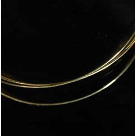 14kt Gold Jewelry Wire 28 Gauge 14k Hard Temper (Qty=18) by uGems