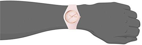 Ice-Watch - ICE glam pastel Pink lady - Montre rose pour femme avec bracelet  en silicone - 001069 (Medium) ... 1083049f91e6