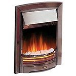 Dimplex Adagio Chrome Optiflame Inset Electric Fire