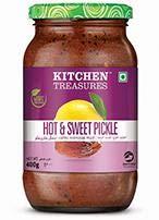 Hot & Sweet Pickle Kitchen Treasures 400gm-((NatureLoC)