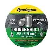 remington-thunderbolt-22-55mm-calibre-tin-of-200-pure-zinc-lead-free