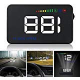 A500 3.5 Inch Car HUD Head Up Display Speedometer OBD2 II EUOBD Auto