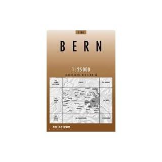 Swisstopo 1 : 25 000 Bern