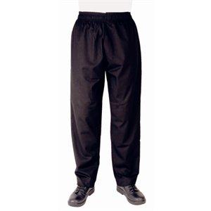 Black Hosen Chefs (Whites Chefs Kleidung Apparel a582-xxl Vegas Chef Hose, schwarz)