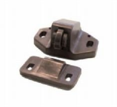 brown-plastic-sprung-roller-catch-by-suki-hardware