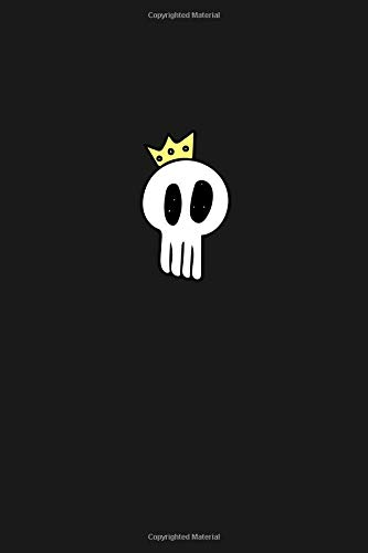 Princess Skull Notebook for Girls: Blank Lined Journal for Writing In