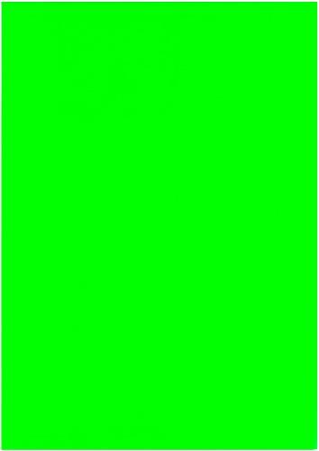 NEPTUN Flock-Folie neon grün DIN A4