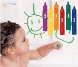 5x Baby Kleinkind waschbar Bad Kreiden Bathtime Fun Educational Spielzeug spielen