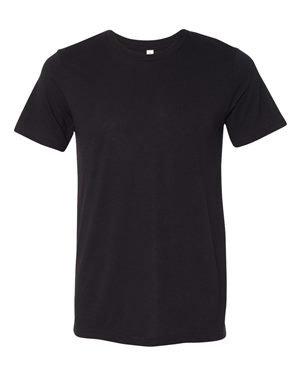 Unisex Triblend Short-Sleeve T-Shirt SLD BLK TRIBLEND L (Sleeve Short Shirt Blk)