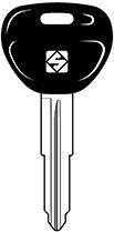 Schlüsseldienst Schlüssel Rohling Autoschlüssel MITSUBISHI COLT (von 1993 zu 1994) COLT (von 1996) LANCER (von 1996) MIRAGE (von 1993 zu 1994) Silca MIT11RAP