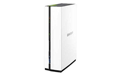 Qnap TS-128 1.1GHz 1-Bay NAS Server Bundle mit 1x 2TB HDs