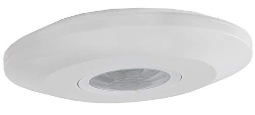 Infrarot Decken Bewegungsmelder 360° Ab 1 Watt LED geeignet bis 8m Zeit einstellbar Weiß