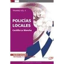 POLICÍAS LOCALES DE CASTILLA-LA MANCHA. TEMARIO VOL. II