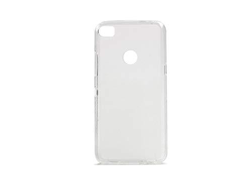 etuo Handyhülle für Alcatel Idol 5S - Hülle FLEXmat Case - Weiß - Handyhülle Schutzhülle Etui Case Cover Tasche für Handy