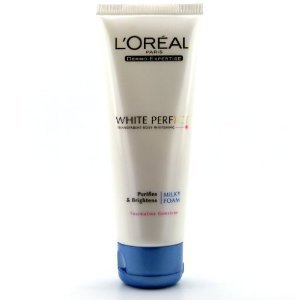 L'Oreal White Perfect Transparent Rosy Whitening Milky Foam (100ml)