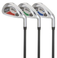 Spalding SPJR SW-Fer pour Club de Golf-Rouge-Pour droitier