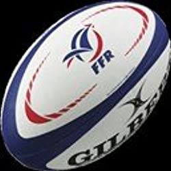 GILBERT Mini Ballon de Rugby Replica FFR