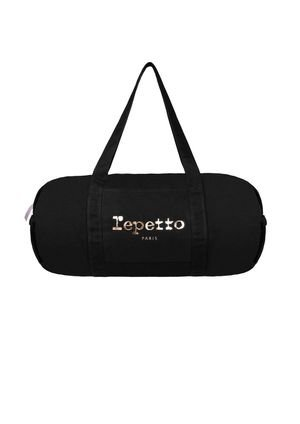 Sac Polochon Grand Format Noir - Repetto