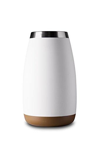 Celsius-tipp Bis (Mandahorn Aktiv-Flaschenkühler / Weinkühler Celsius Cream White Matt (Green Brown))