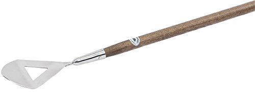 Draper Tools Limited Stainless Steel Pointed Hoe with FSC Certified Ash Handle